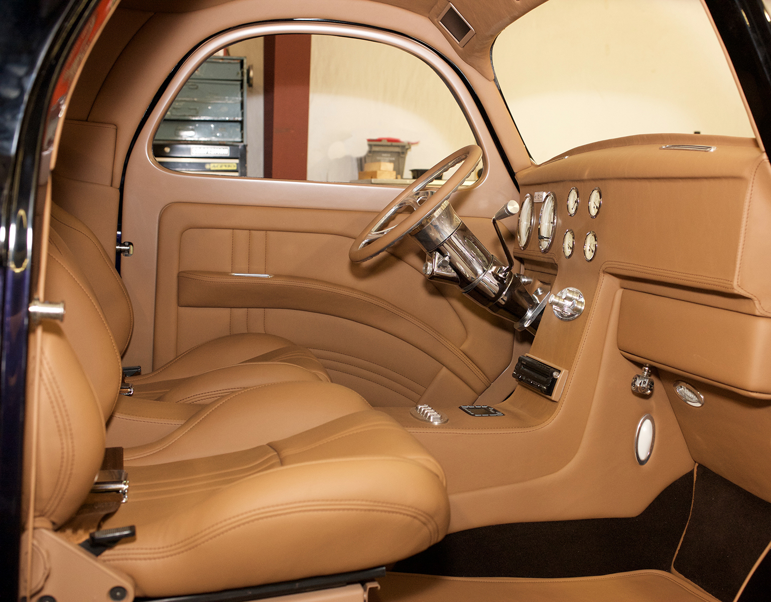 1941 Willys Stitch And Stereo
