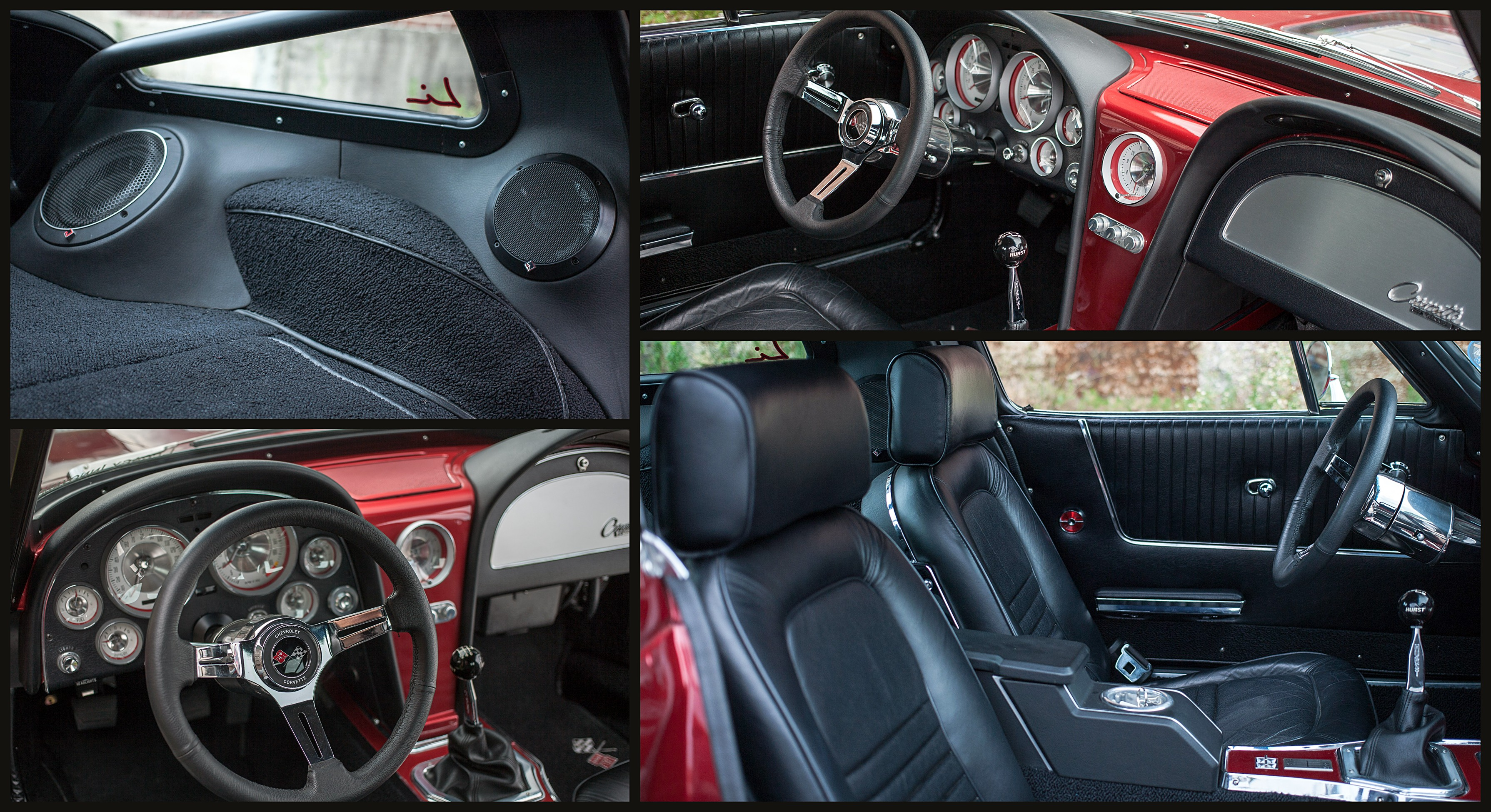 Stitch & Stereo - Restomod Interior