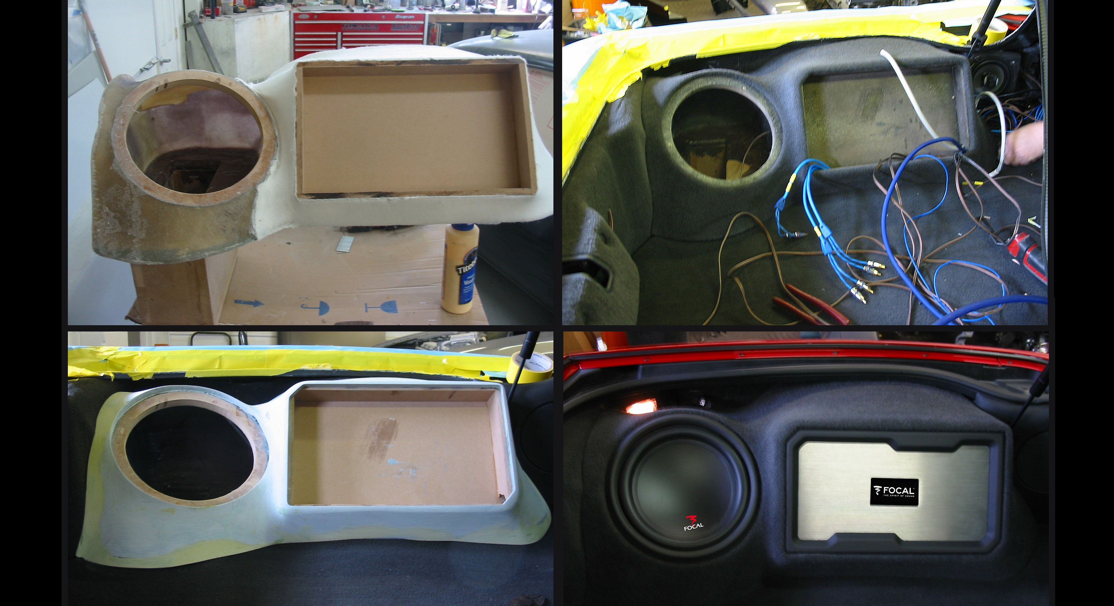 Stitch & Stereo - Custom Trunk Enclosures